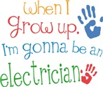 Future Electrician Kids T-shirts