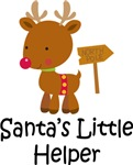 Santa's Little Helper Reindeer T-shirts and Gifts
