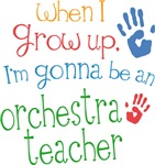 Future Orchestra Teacher Kids T-shirts