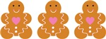 Cute Gingerbread Cookies Gifts and Tees
