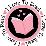 I Love Reading Book T-shirts