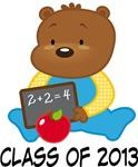 Teddy Bear 2013 Graduation Gifts and Tshirts