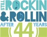 44th Anniversary Rock N Roll Tshirts