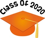 2020 School Class Graduation (Orange)