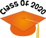 2020 School Class Graduation (Orange)