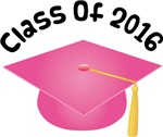 2016 School Class Graduation (Pink)