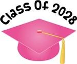 2028 School Class Graduation (Pink)