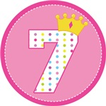 Princess 7th Birthday Crown T-shirts