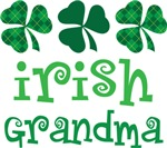 IRISH GRANDMA SHAMROCK T-SHIRTS
