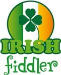 IRISH FIDDLER MUSIC T-SHIRTS