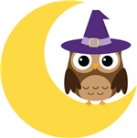 Cute Halloween Owl Tee Shirts and Gifts