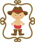 Cowboy Baby Kids Tee Shirts