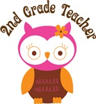 2nd Grade Teacher Gift T-shirts and Mugs