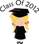 Class Of 2012 Girl Graduate Design