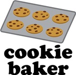 Cookie Baker Chocolate T-shirts