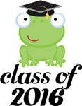 2016 Graduation Frog Gifts and Tshirts