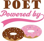 Poet Powered By Donuts Gift T-shirts
