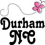 Durham North Carolina Butterfly T-shirts