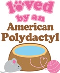 Loved By An American Polydactyl Tshirt Gifts