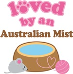 Loved By An Australian Mist Tshirt Gifts