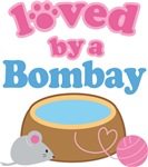 Loved By A Bombay Cat T-shirts