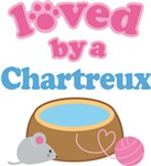 Loved By A Charteux Cat T-shirts