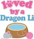 Loved By A Dragon Li Cat T-shirts