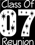 Class Of 2007 Reunion Tee Shirts