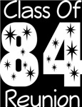 Class Of 1984 Reunion Tee Shirts