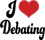 I Heart Debating T-shirts and Gifts