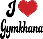 I Heart Gymkhana T-shirts and Gifts