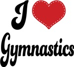 I Heart Gymnastics T-shirts and Gifts