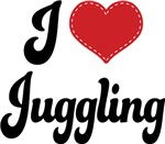 I Heart Juggling T-shirts and Gifts