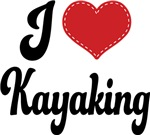 I Heart Kayaking T-shirts and Gifts