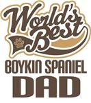 Boykin Spaniel Dad (Worlds Best) T-shirts