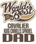 Cavalier King Charles Spaniel Dad (Worlds Best) T-
