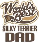Silky Terrier Dad (Worlds Best) T-shirts