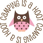 CAMPING IS A HOOT OWL TEES AND GIFTS