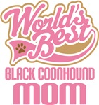 Black Coonhound Mom T-shirts and Gifts