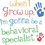 Future Behavioral Specialist Kids T-shirts