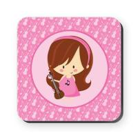 VIOLIN MUSIC COASTERS