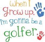 Future Golfer Kids T-shirts