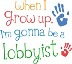 Future Lobbyist Kids T-shirts