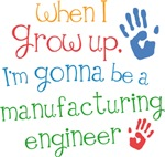 Future Manufacturing Engineer Kids T-shirts