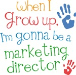 Future Marketing Director Kids T-shirts