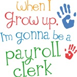 Future Payroll Clerk Kids T-shirts