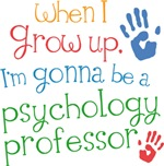 Future Psychology Professor Kids T-shirts