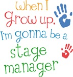Future Stage Manager Kids T-shirts