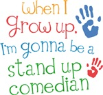 Future Stand Up Comedian Kids T-shirts