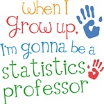 Future Statistics Professor Kids T-shirts